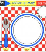 Set the Table Color-A-Mat