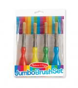 Jumbo Paint Brushes (Set of 4)