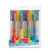 Jumbo Paint Brushes (Set of 4)