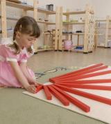 Montessori Materials-Red Rods
