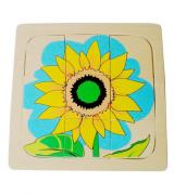 Growth and Layer Puzzle –Sunflower-E&O Montessori-www.momtessorimaterials.com