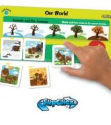 Self-Checking Magnetic Weather Games
