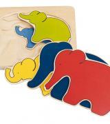 Elephant Puzzle - 5 layers