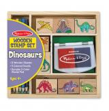 Wooden Stamp Set – Dinosaurs