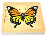 Growth and Layer Puzzle – Butterfly