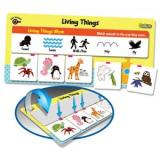 Self-Checking Magnetic Science Games: Baby & Adult; Movement; Living and Non-living; What They Eat