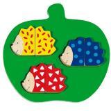 Hedgehog Puzzle Game