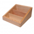 Three Compartment Box for Classified Cards