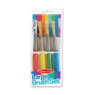 Large Paint Brushes (Set  of 4)