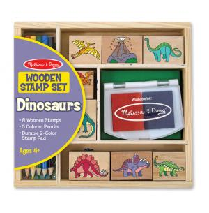 Wooden Stamp Set – Dinosaurs