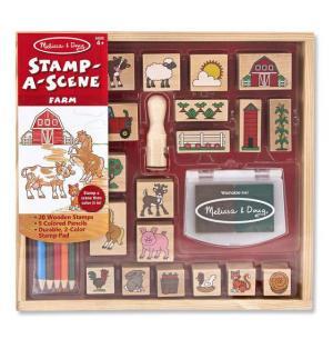 Stamp-a-Scene Farm Set