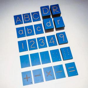 Tracing Set: Letters, Numbers & Math Symbols