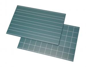 Greenboard with Double Lines and Squares