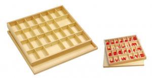 Small Movable Alphabet Box