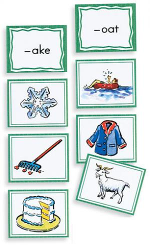 Sound Sorting Picture Cards – Rhymes