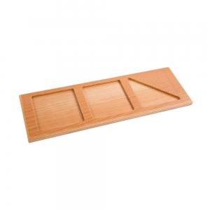 Wooden Tray for Addition Snake Game