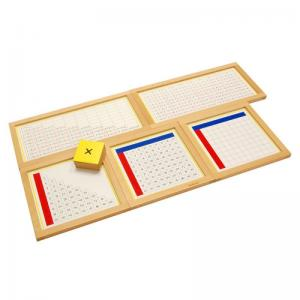 Multiplication Working Charts with FRAME - Complete Set