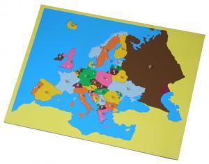 Montessori Europe Puzzle Map