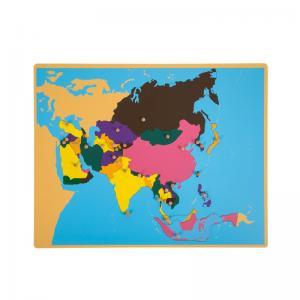 E&O Montessori Materials - Asia Puzzle Map
