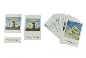 Classified Cards, World landmarks