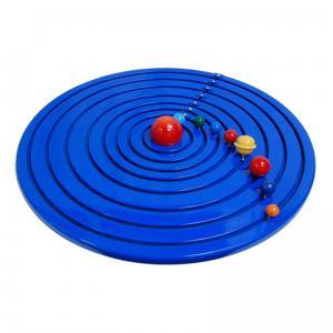 Solar System Wooden Model