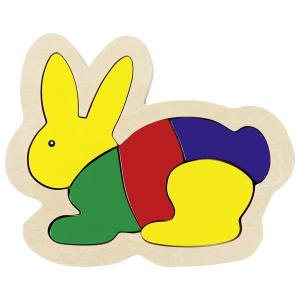 Rabbit, Wooden Puzzle