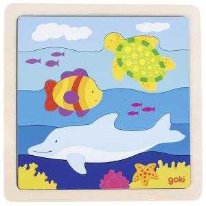 In the Sea, Wooden Puzzle