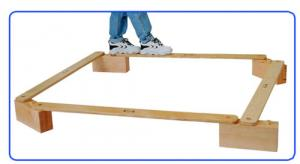 Wooden Balance Board Walk