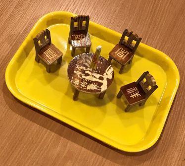 Miniature Wooden Furniture for Polishing