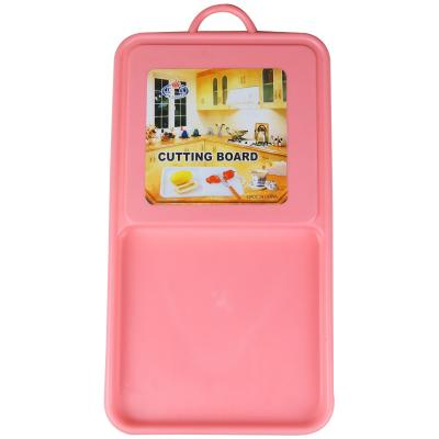 Plastic Cutting Board withTray