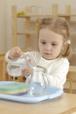 Montessori Materials - 1.07.04 Pouring Water