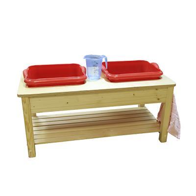 Wooden Cloth Washing Stand - Toddler