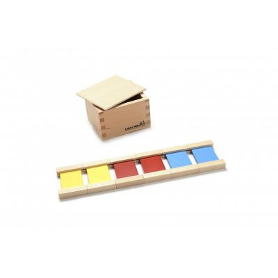 First Box of Colour Tablets - Wooden