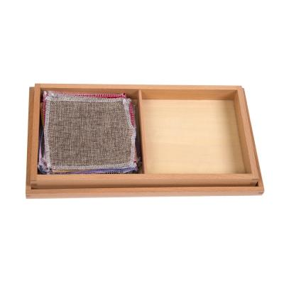 Fabric Box with Different Fabrics