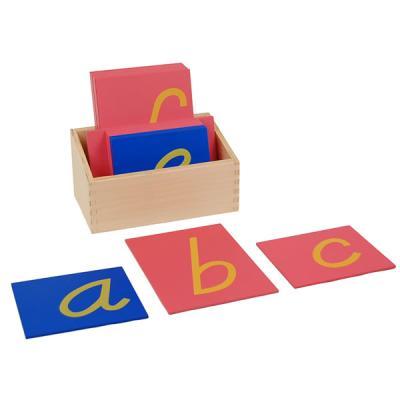 D'Nealian Style Sandpaper Letters w/ Box