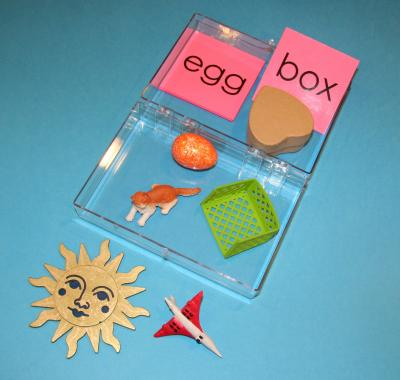 Phonetic Object Box 1 With Pink Cards
