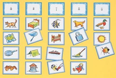 Sound Sorting Picture Cards - Vowels