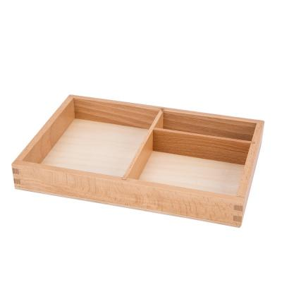 Three Part Tray for Classified Cards