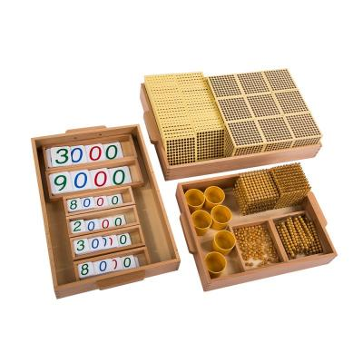 Golden Bead Material - Plastic Cards, Individual Nylon Beads