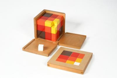 Algebraic Trinomial Cube