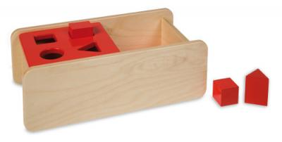 Imbucare Box with Flip Lid - 4 Geometric Shapes