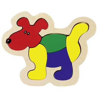 Dog, Wooden Puzzle