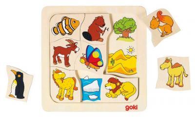 Animal Habitats Puzzle