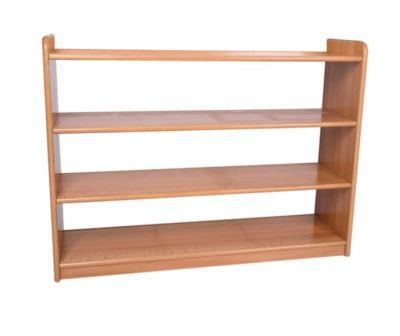 Material Cabinet with 2 Shelves and Closed Back