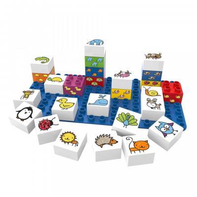 Learning Animals Building Blocks Set