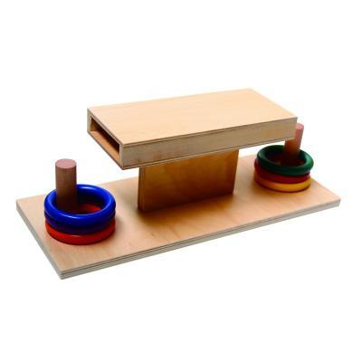 Toddler Box with Sliding Discs