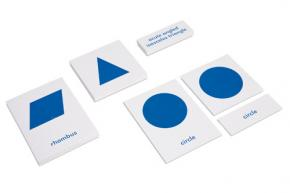 Geometric Cabinet Nomenclature Cards