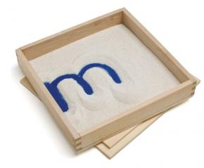 Letter Formation Sand Tray with Lid