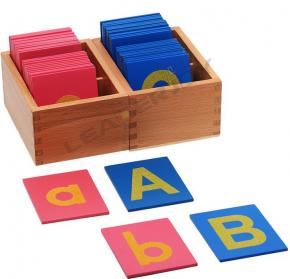 Sandpaper Letters - Matching Game