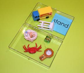 Phonetic Object Box 2 with Blue Cards
